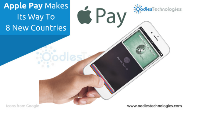 Apple Pay Makes Its Way To 8 New Countries